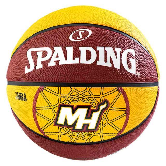 4c0fa8c2195b6 Spalding - Miami Heat Nba T7 rouge, accessoires mixte - pas cher Achat / Vente  Ballons basket - RueDuCommerce