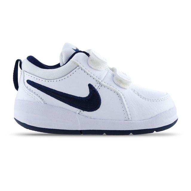 d0a48aa4f380f Nike - PICO 4 ENFANT BLEU BLANC - pas cher Achat   Vente Baskets ...