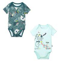 Lot de 2 bodies manches courtes bébé garçon Camoujungle - Taille - 3 mois. PETIT  BEGUIN ... c574802cebf