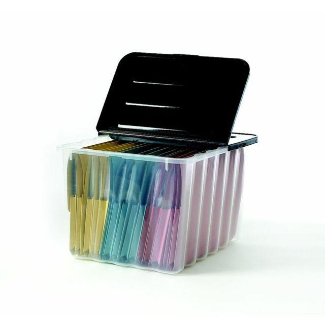 caisse de rangement plastique pas cher great bac de rangement en plastique pas cher image bac. Black Bedroom Furniture Sets. Home Design Ideas