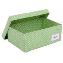 Minene Uk Ltd - Minene Uk BoÎTE De Rangement Pois Vert Petite Taille