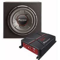 PIONEER - PACK SUBWOOFER/AMPLIFICATEUR - GXT-3706B-SET