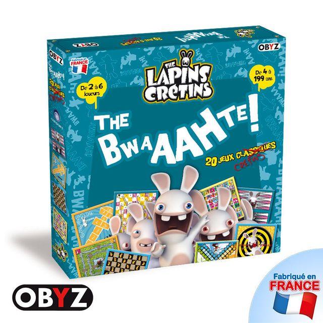 OBYZ Lapins Cretins - Jeu de plateau - 20 Jeux classiques  The Bwaahte  - SMIJDP005