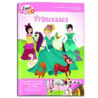 Teo & Zina - Livre de stickers Princesses