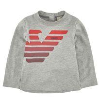 Armanijunior - T-shirt gris