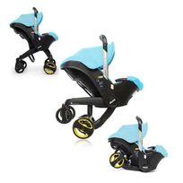 Doona - Simple Parenting Siege Auto/Poussette Groupe 0+ + Turquoise