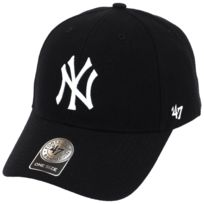 47 Brand - Casquette New york yankees black Gris 12995