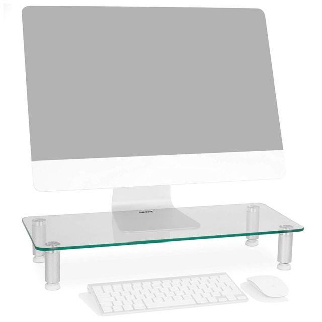Duronic - Dm052-1 Réhausseur d écran   moniteur - Support en verre pour  écran d ordinateur ou ordinateur portable ou écran Tv 56 x 24 cm - pas cher  Achat ... 3ad3b0111694