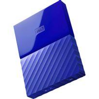 WESTERN DIGITAL - Disque dur externe 1 To - WDBYNN0010BBL - Bleu
