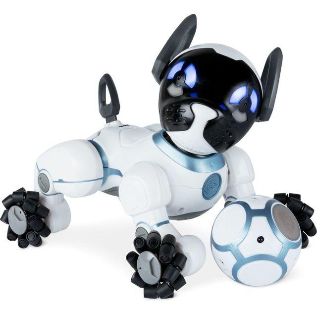 Robot Chip Chien Connecté Blanc