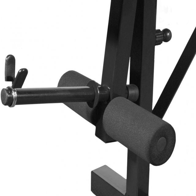 Casasmart - Banc de musculation avec Haltères + barre + disques