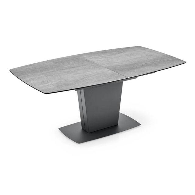 Inside 75 Table de repas extensible Jadis Pm plateau en ceramique ciment