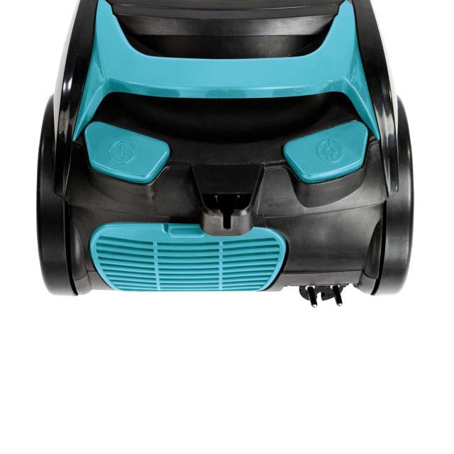 DOMOCLIP Aspirateur multi-cyclonique sans sac DOH111B Capacité du bac à poussière 2,5 L - Rayon d'action de 6 mètres - Filtre à poussière permanent - Position parking verticale et horizontale intégr&e