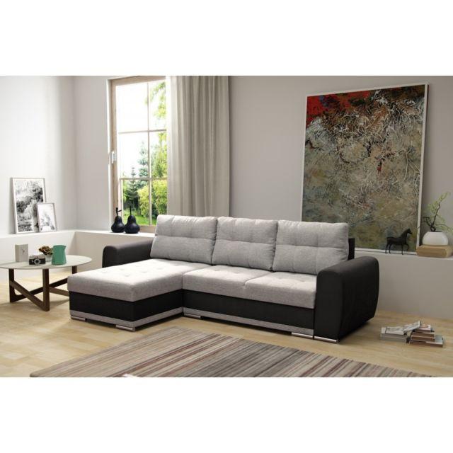 Rocambolesk Canapé Bobo noir gris sofa divan