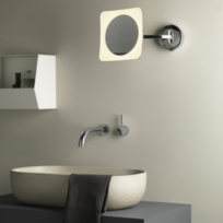 miroir grossissant mural achat miroir grossissant mural pas cher rue du commerce. Black Bedroom Furniture Sets. Home Design Ideas