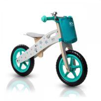 Kinderkraft - Draisienne Runner vélo en bois sans pédale écologique Vert