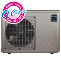 Piscine Center O'CLAIR - Pompe à chaleur PacFirst Elite 16 kW Mono