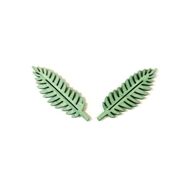 Visiodirect 10 sachets de 10 Confettis de table palmier en vert - 4 x 1,5 cm