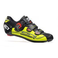 Sidi - Genius 7 Noire Et Jaune Fluo Chaussures Vélo route