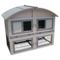 Flamingo - Clapier pour lapins Caravan Cottage