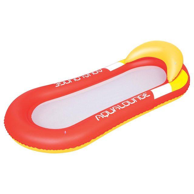 Bestway matelas gonflable plage piscine aqua lounge filet red rouge 58058 pas cher achat - Matelas gonflable piscine pas cher ...