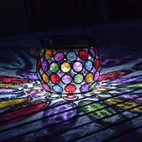 Smart Garden - Lanterne multicolore Led solaire hauteur 10cm Gems