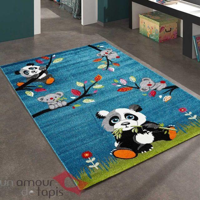 Tapis pour enfants chambre SKY PANDA