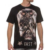 Religion clothing - Tee-shirt aspect usé homme imprimé croix