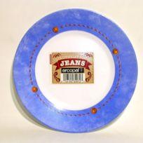 Arc - Assiette Dessert ronde 19,5 cm Jeans opal