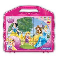 Clementoni - Puzzle 24 cubes : Princesses Disney