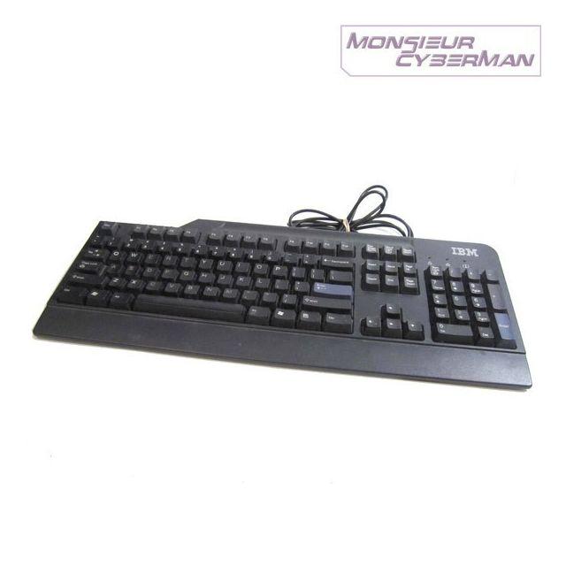 LENOVO Clavier Azerty Noir USB IBM SK 8825 41A5289 PC