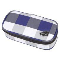 Schneiders Vienna - Classic Trousse Motif À Carreaux Bleu