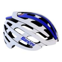 Lazer - Casque Z1 Santini Light Road blanc bleu