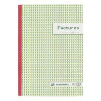 Exacompta - Cahier de facture Manifold autocopiant A4 50 pages triple exemplaires - Lot de 5