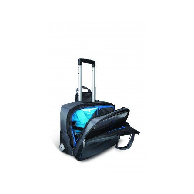 f32ef7792b POSS - Valise trolley pour ordinateur portable - PSLUC15N-17 - Gris ...