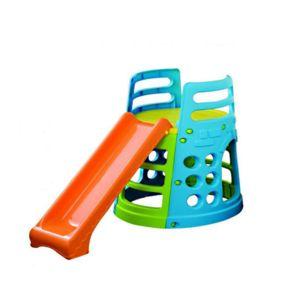 palplay aire de jeux pour enfant plastique h 100 cm pas cher achat vente toboggans. Black Bedroom Furniture Sets. Home Design Ideas