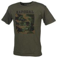 Kaporal 5 - Tee shirt manches courtes Revog army mc tee jr Vert 44344