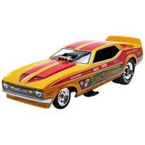 Auto World - Aw1113 - VÉHICULE Miniature - ModÈLE À L'ÉCHELLE - Ford Mustang Funny Car - Cha Cha 1972 - Echelle 1/18