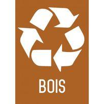 Editions Uttscheid - Recyclage bois - Autocollant vinyl waterproof - L.210 x H.297 mm
