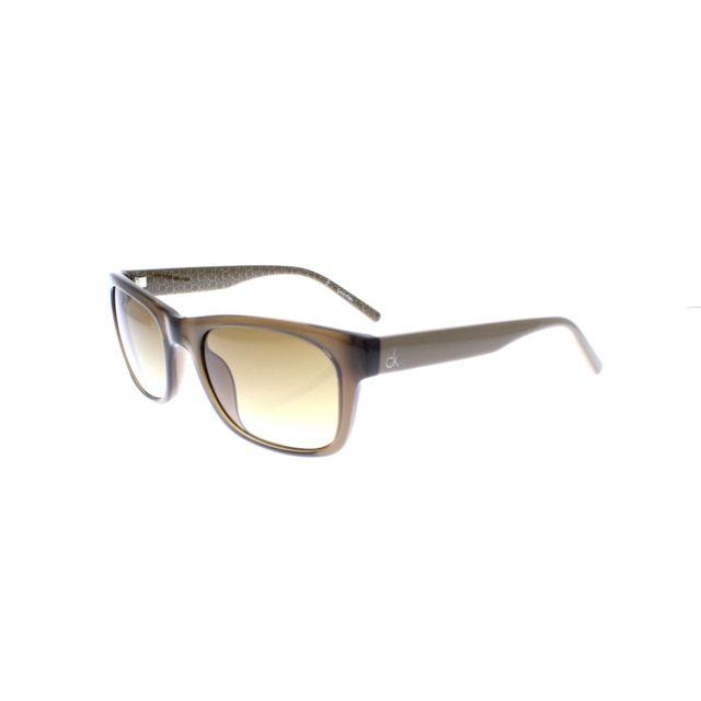 e7f8e03e81acb7 Calvin Klein - Ck 3140S 210 - Lunettes de soleil femme Marron - pas cher  Achat   Vente Lunettes Tendance - RueDuCommerce