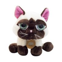Wild Planet - All About Nature - Wild Planet All About Nature Peluche Chat Siamois 23 Cm