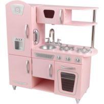 Kidkraft - 53179 - Jeu D'IMITATION - Cuisine Vintage - Rose