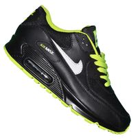 Nike - Basket - Femme - Air Max 90 Essential 220 - Black White Fluo