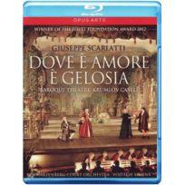 Opus Arte - Giuseppe Scarlatti: Dove è Amore è gelosia - Baroque Theatre, Krumlov Castle Blu-ray