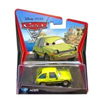 Voiture Jaune 2Acer Vehicule Mattel W1945 Miniature Disney OkTPZwXui