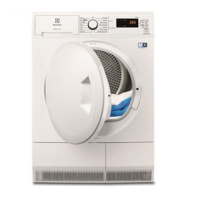 ELECTROLUX sèche-linge pompe à chaleur avec condenseur 60cm 8kg a++ blanc - ew8h4812sc