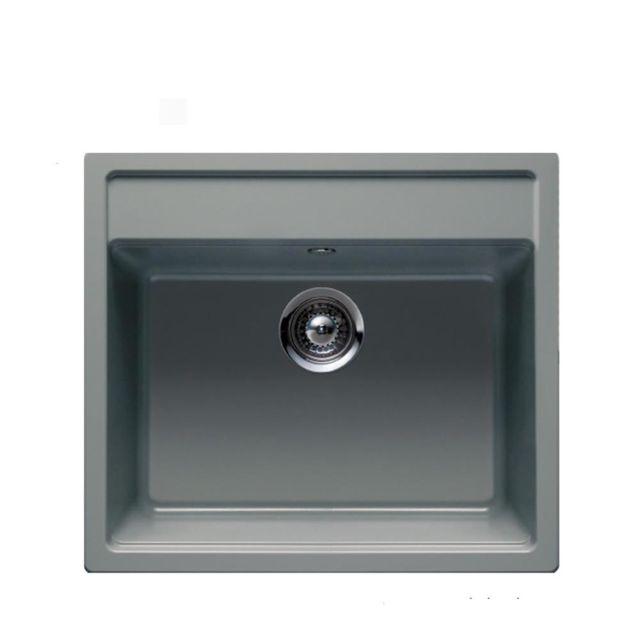 Schock évier Granit Gris Nemo 1 Bac 570x510 Pas Cher Achat