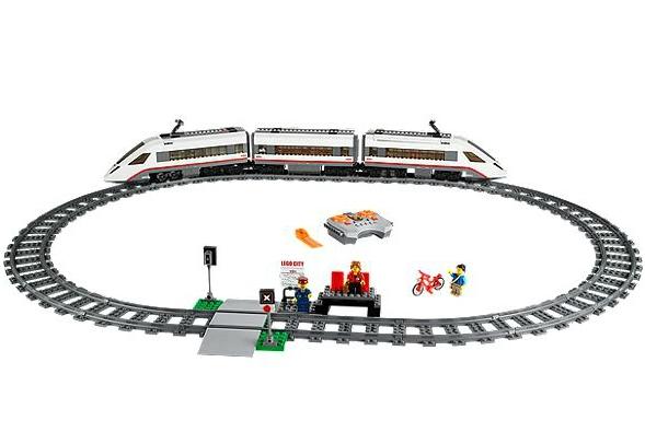 City - 60051 - Jeu De Construction - Le Train De Passagers À Grande Vitesse