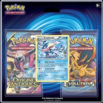 Pokemon Company International - Cartes à collectionner - Xy Evolutions : Pack 2 Boosters Amphinobi