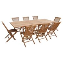 Table jardin pied central - catalogue 2019 - [RueDuCommerce - Carrefour]
